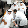 DHA and DP World launch state-of-the-art blood donation bus.