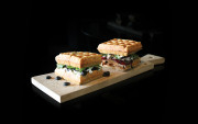 Get with the Waffle Burger trend at ICONS© Coffee Couture