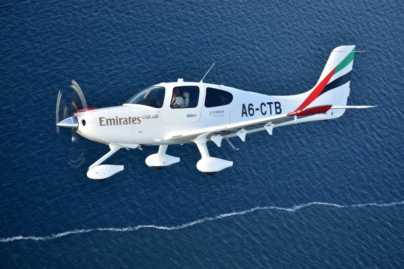 Two Cirrus SR22 G6 aircraft make their way from Duluth to Dubai, passing through 11 stops in 10 countries