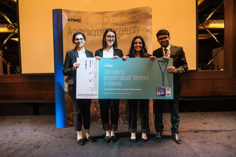 KPMG hosts 8th Ace the Case competition in Dubai