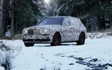 Name Of New High-Sided Vehicle To Be Rolls-Royce Cullinan