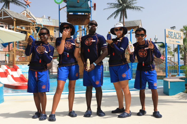 Laguna Waterpark shares tips on how to stay protected in water to celebrate Sunscreen Day
