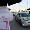 RAK Hospital offers ready meals to hundreds of taxi drivers