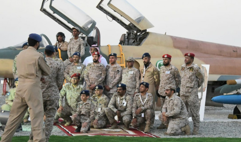 King Abdullah Air Defense College Commander Opens Armed Forces Exhibition