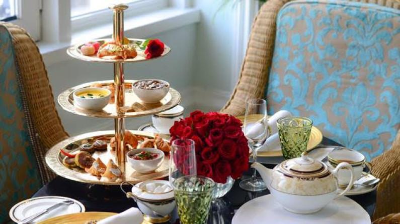 Tea at Taj