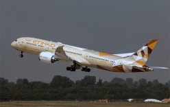Etihad Airways rolls out  first  Boeing 787-9 Aircraft