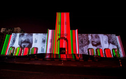 Sharjah Light Festival  hosts outstanding performances by various artists combining movement, light & music