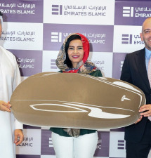 Emirates Islamic Hands Over Tesla to Kunooz Account Winner