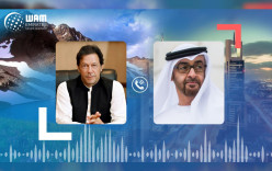 Mohamed bin Zayed, Imran Khan Discuss Consolidating Cooperation