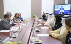 Saif bin Zayed, Mayor of Moscow Discuss Bolstering Relations