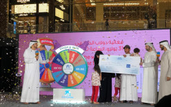 DSS Shopper Becomes Millionaire in City Centre Mirdif 'Spin the Wheel'