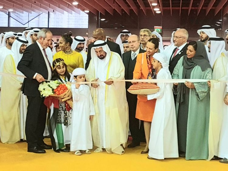 Sheikh Sultan Opens Sharjah International Book Fair